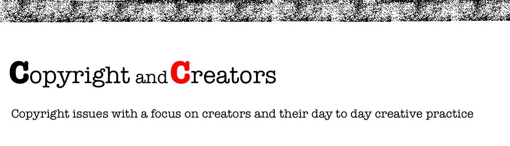 Copyright and Creators
