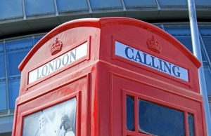 London Calling...  I came, I interviewed, I left.  Image available by Karen Roe under CC BY 2.0